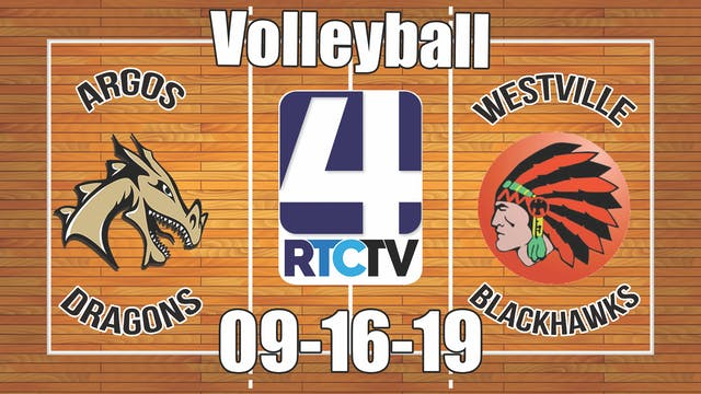 Argos Volleyball vs Westville - 9-16-19