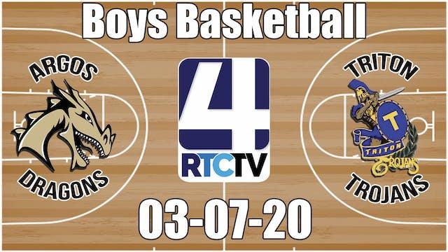 IHSAA Boys Basketball Sectional #50 C...