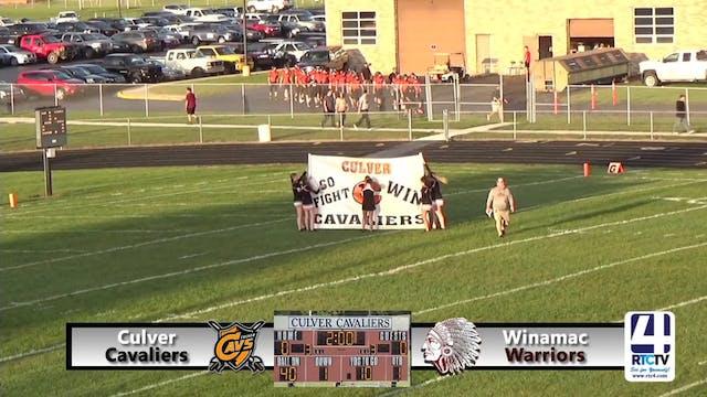Culver Football vs Winamac - 09-21-18...