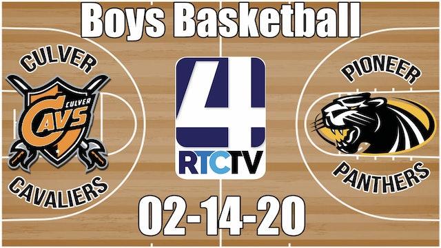 Culver Boys Basketball vs Pioneer 2-14-20