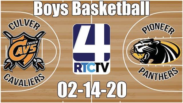 Culver Boys Basketball vs Pioneer 2-1...