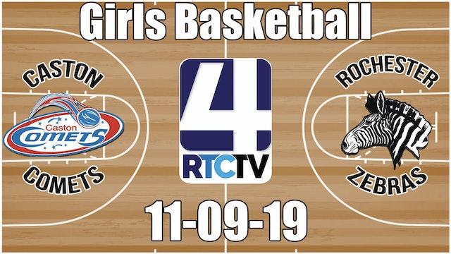 Caston Girls Basketball vs Rochester 11-9-19