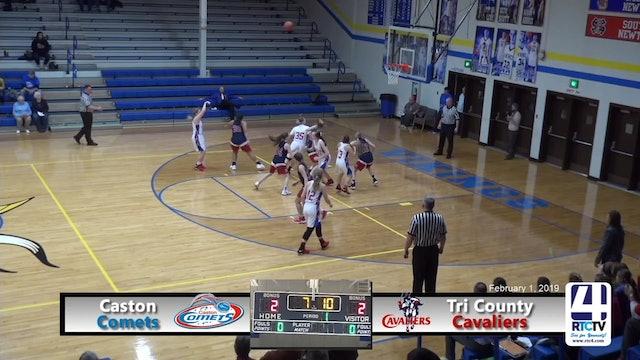 Caston Girls Basketball vs Tri County - 2-1-19