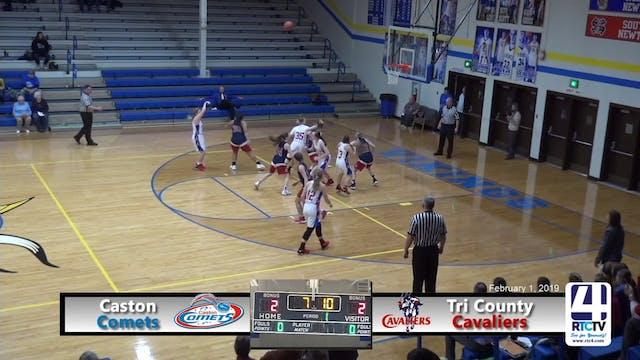 Caston Girls Basketball vs Tri County...
