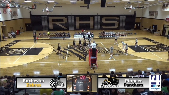 Rochester Volleyball vs Pioneer - 08-14-18