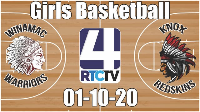 Winamac Girls Basketball vs Knox 1-10-20