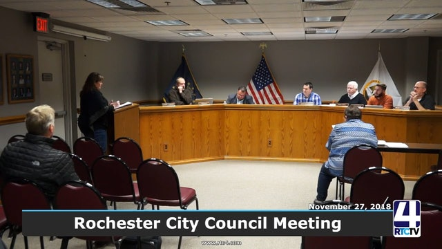 Rochester City Council Meeting - 11-27-18