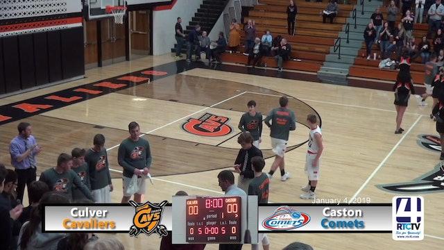 Culver Boys Basketball vs Caston - 1-4-19