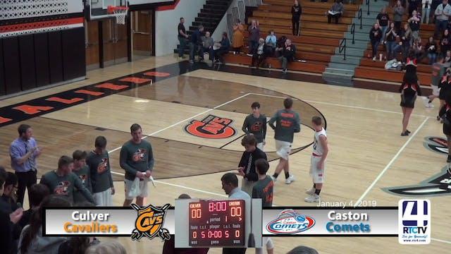 Culver Boys Basketball vs Caston - 1-...