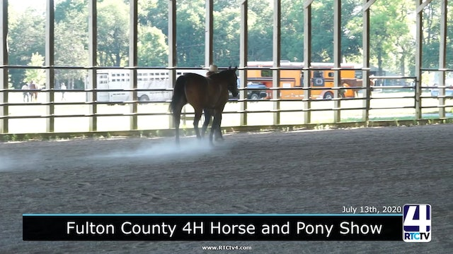 CE - Fulton County 4H - Horse and Pony Show - Part 1 - 7-13-20