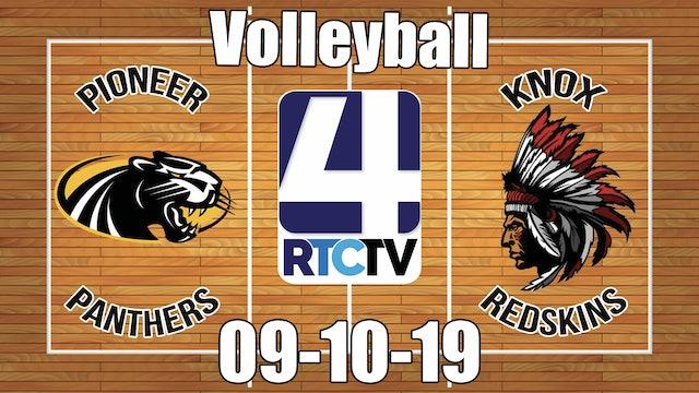 Pioneer Volleyball vs Knox - 9-10-19