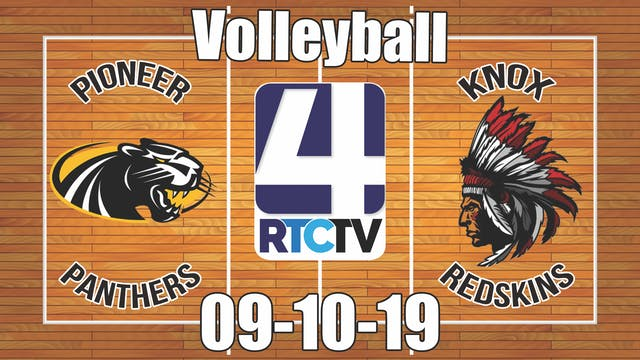 Pioneer Volleyball vs Knox - 9-10-19