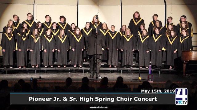 Pioneer Jr.Sr. High School Spring Choir Concert - 5-15-19
