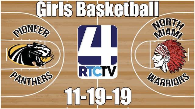 Pioneer Girls Basketball vs North Mia...