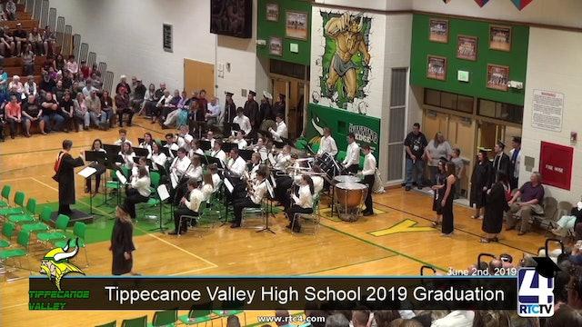 Tippecanoe Valley High School 2019 Graduation - 6-2-19