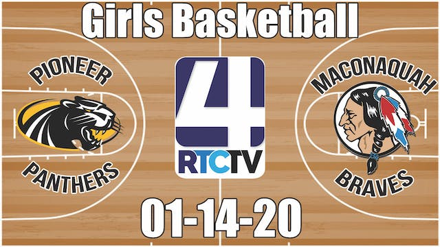 Pioneer Girls Basketball vs Maconaqua...