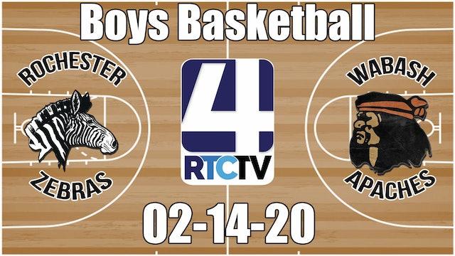 Rochester Boys Basketball vs Wabash 2-14-20