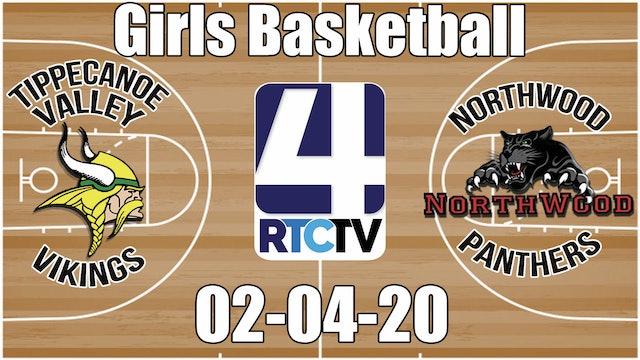 IHSAA Girls Basketball Sectional #20 Tippecanoe Valley vs Northwood 2-4-20