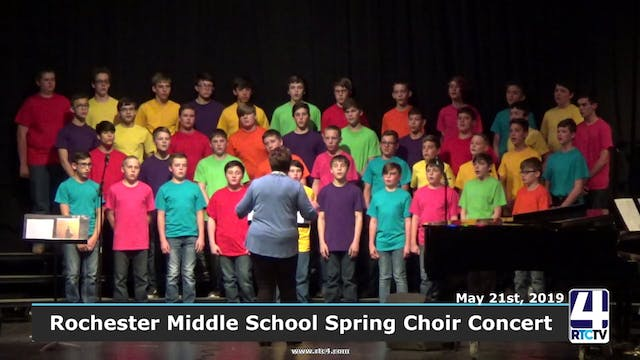Rochester Middle School Spring Choir ...
