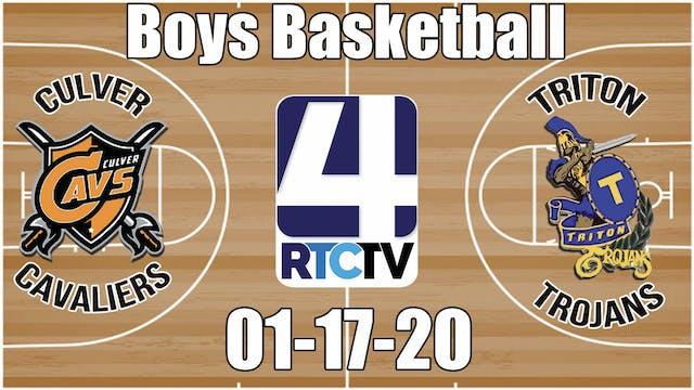 Culver Boys Basketball vs Triton 1-17-20