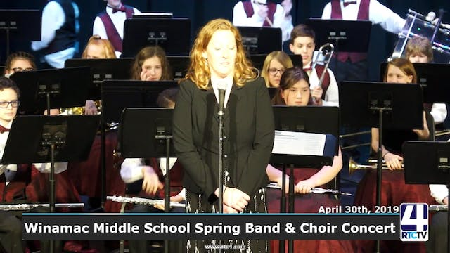 Winamac Middle School Spring Choir an...