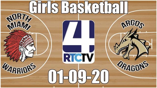 North Miami Girls  Basketball vs Argos 1-9-20