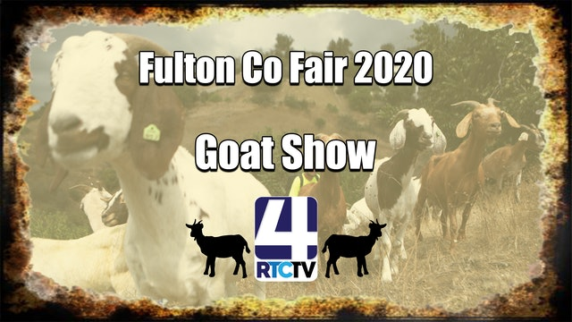 Fulton Co 4H Goat Show 7-16-20
