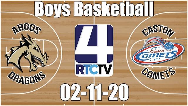 Argos Boys Basketball vs Caston 2-11-20
