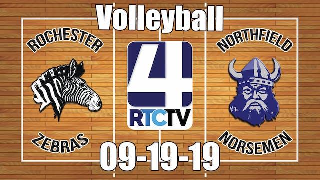 Rochester Volleyball vs Northfield 9-...
