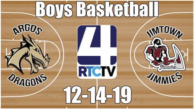 Argos Boys Basketball vs Jimtown 12-1...