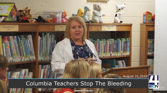 Columbia Teachers Stop The Bleeding - 8-21-19