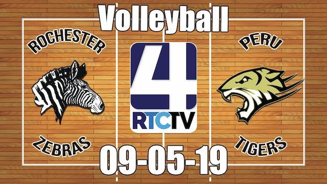 Rochester Volleyball vs Peru - 9-5-19