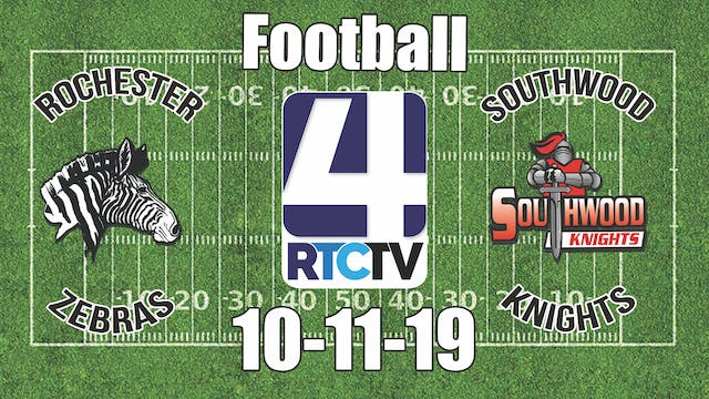 Rochester Football at Southwood 10-11-19