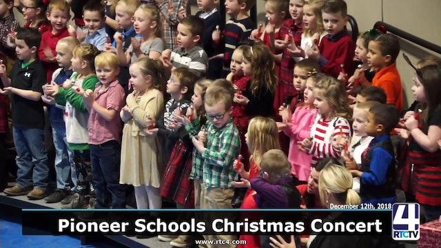 Pioneer Schools Music Department Christmas Concert 12-12-18