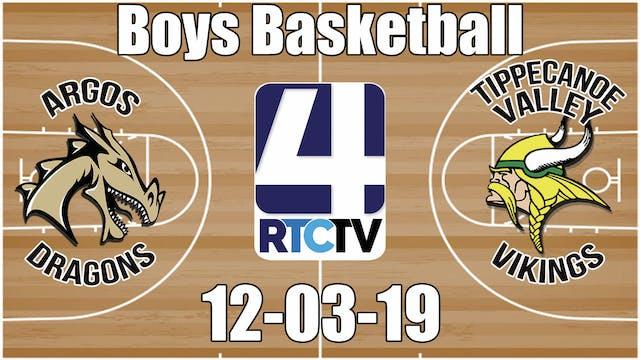 Argos Boys Basketball vs Tippecanoe V...