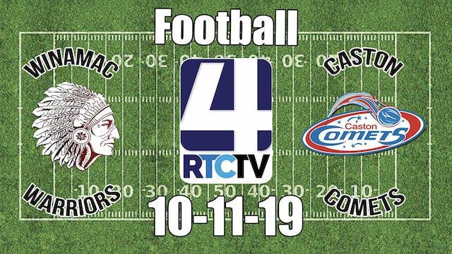 Winamac Football vs Caston 10-11-19