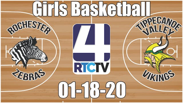 Rochester Girls Basketball vs Tippeca...