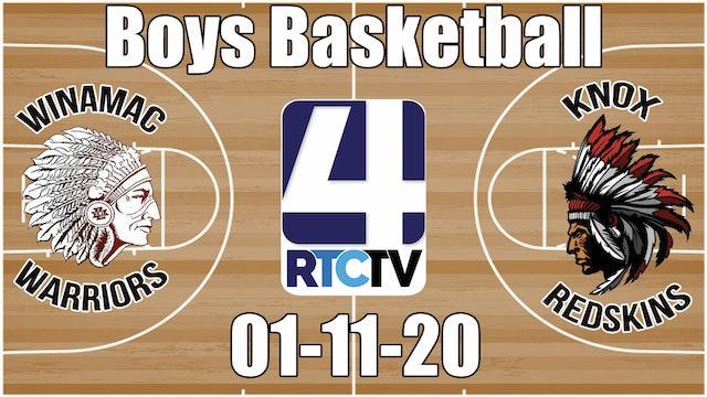 Winamac Boys Basketball vs Knox 1-11-20
