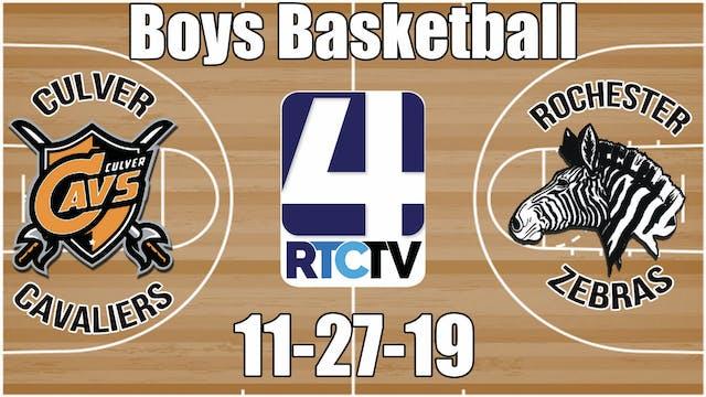 Culver Boys Basketball vs Rochester 1...