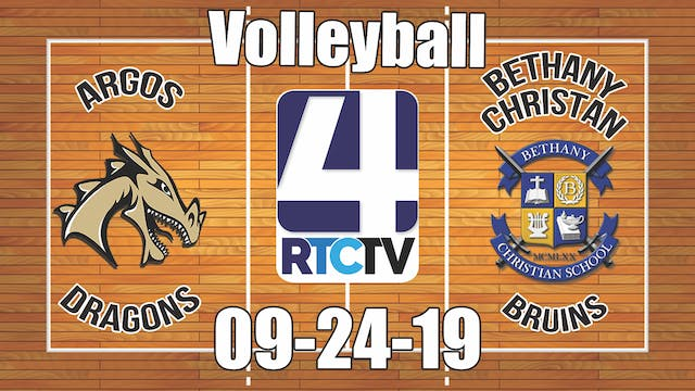Argos Volleyball vs Bethany Christian
