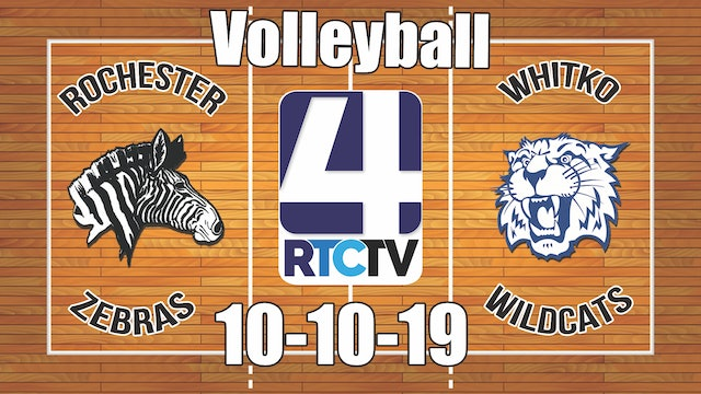 Rochester Volleyball vs Whitko 10-10-19