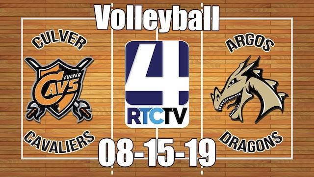 Culver Volleyball vs Argos