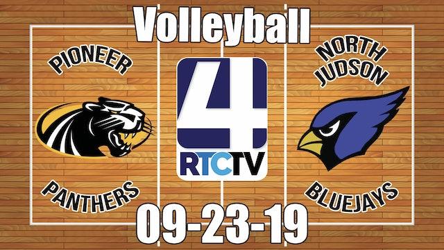 Pioneer Volleyball vs North Judson 9-23-19