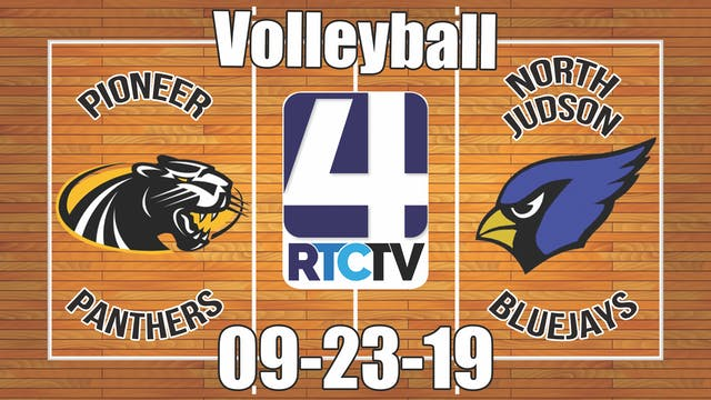 Pioneer Volleyball vs North Judson 9-...