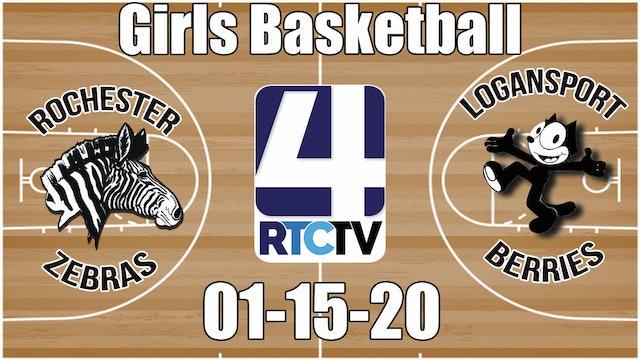 Rochester Girls Basketball vs Logansport 1-15-20