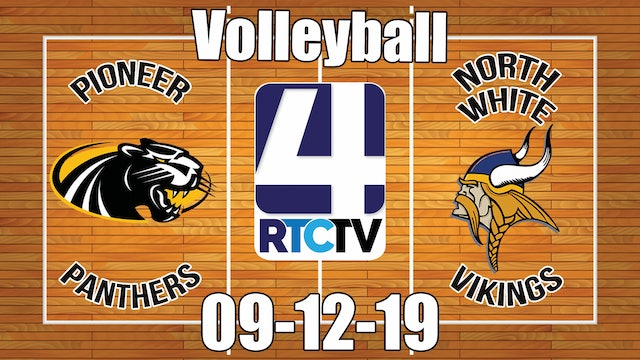 Pioneer Volleyball vs North White - 9-12-19