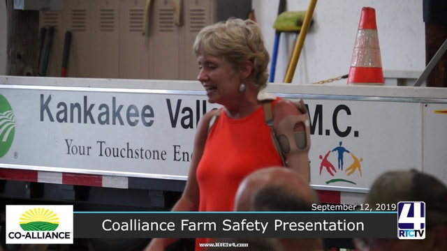 Co-Alliance Farm Safety Presentation - 9-12-19