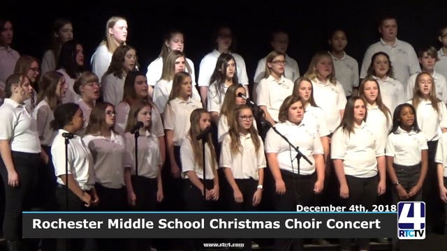 Rochester Middle School Christmas Con...