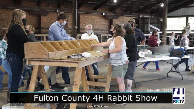 CE - Fulton County 4H - Rabbit Show- 7-14-20