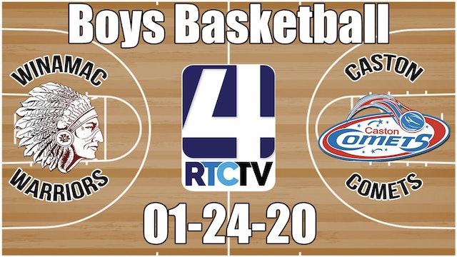 Winamac Boys Basketball vs Caston 1-24-20
